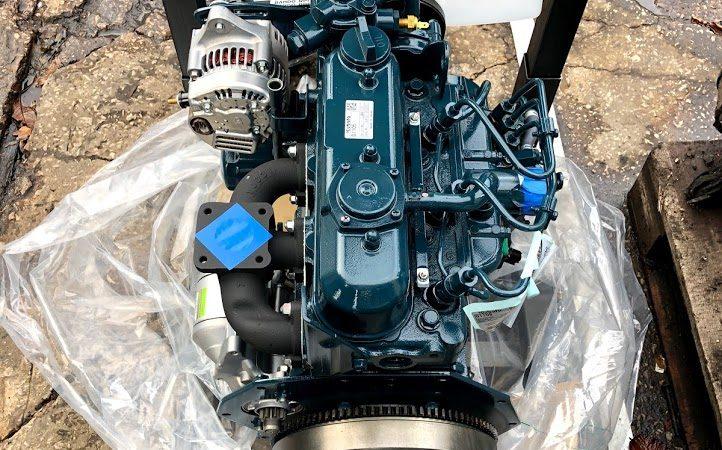 kubota engine swap
